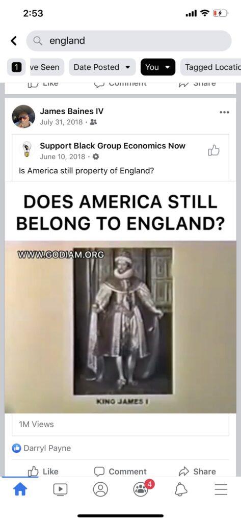 The US Belongs To England